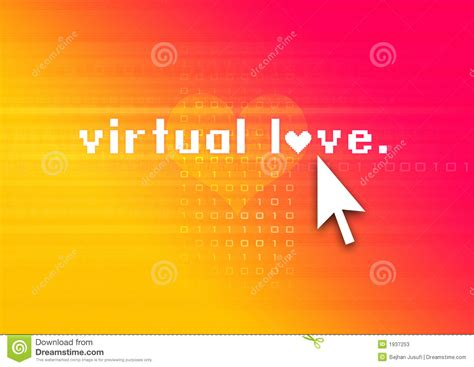 imagenes de amor virtual amor virtual fotos de stock imagem 1937253