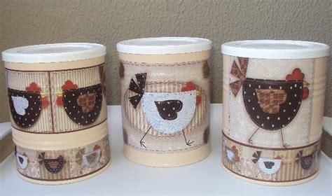 ideas con latas de dulce latas de leche decoradas