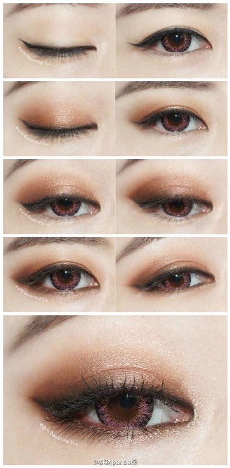 eyeliner tutorial monolid 10 best epicanthic fold makeup images on pinterest