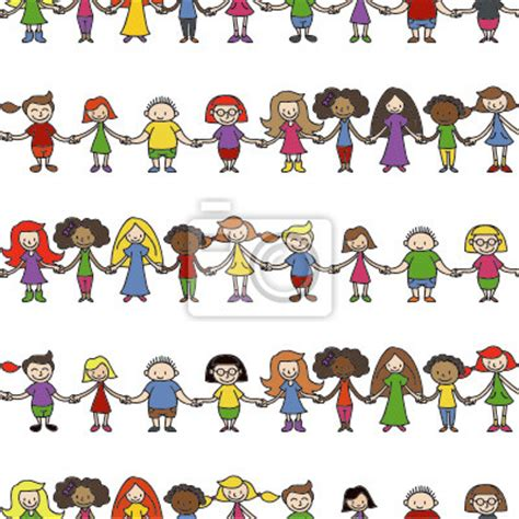 Kinder Wallpapers With 34 Items by Vinilo Kinder Menschenkette Wallpaper Transparente