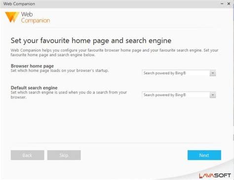 Best Free Search Web Lavasoft Web Companion Free Web Protection Software