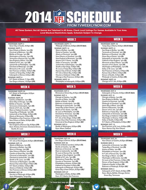 printable nfl schedule one page free printable nascar calendars search results