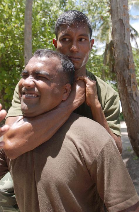 How To Put Someone In A Sleeper Hold by File Maldives25a Rear Choke Jpg Wikimedia Commons