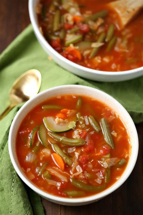 Weight Watchers Zero Point Soup Recipe Slap Dash Mom Weight Watchers 0 Point Soup Garden Vegetable