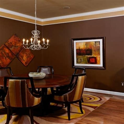 Brown Dining Room Walls by 17 Best Ideas About Brown Dining Rooms On