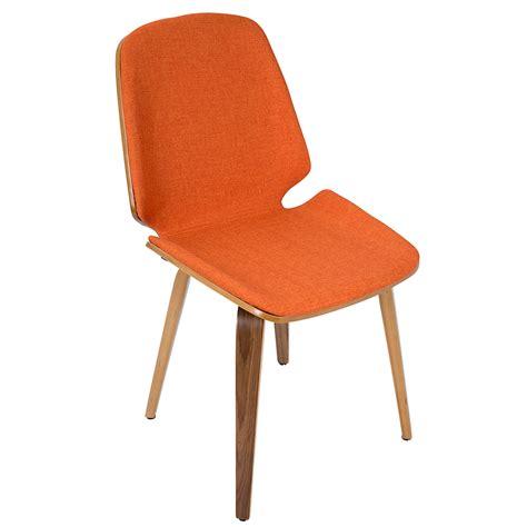 orange chair modern dining chairs satchel orange chair eurway