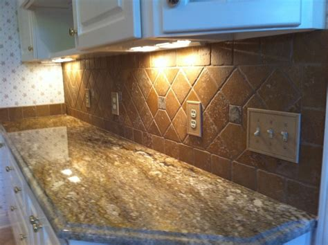 backsplash tile ideas for granite countertops granite countertops and tile backsplash ideas eclectic kitchen indianapolis by supreme