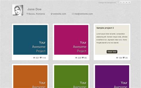 bootstrap themes portfolio simple folio portfolio theme portfolios resumes