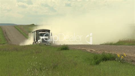 beyond the graveled road travels and trials to a fuller books farm truck on gravel road royalty free and stock