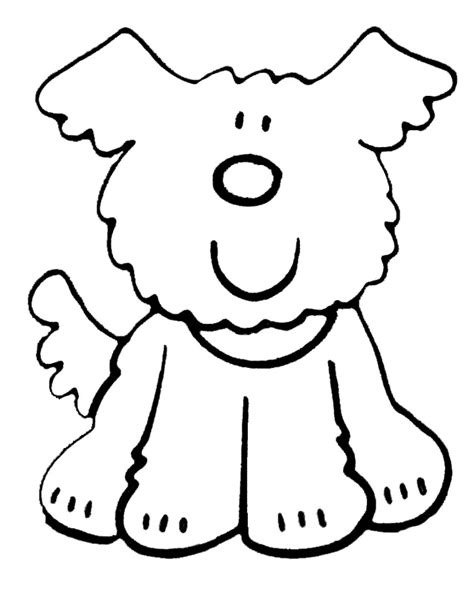 printable dog templates dog template printable creative and curious kids