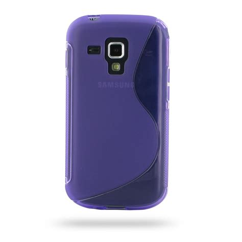 Sofcese Samsung samsung galaxy s duos soft purple s shape pattern pdair