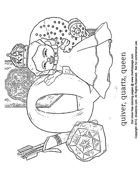 Quiver Coloring Page by Free Coloring Pages Of Quiver