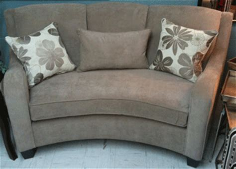 curved sofas and loveseats curved loveseat birchwood 4760 sofas and loveseats