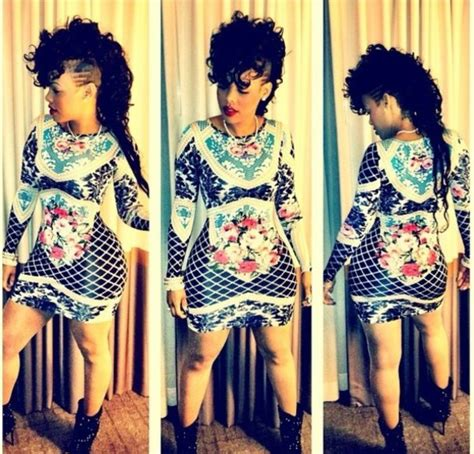 Keisha Flower Dress by Dress Bodycon Black White Flowers Keyshia Kaoir