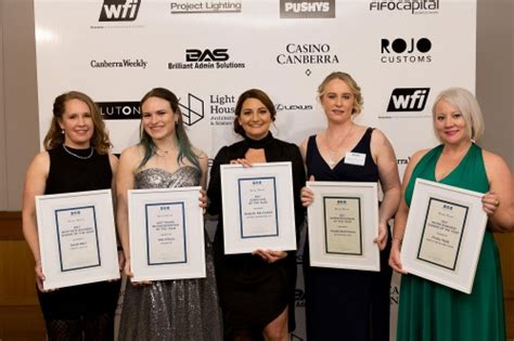 Mba Awards 2017 Canberra Winners by Five Awarded For Their Work In Business Canberra