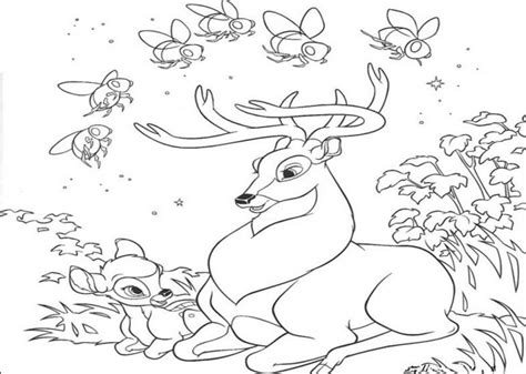 deer family coloring page free printable deer coloring pages for kids