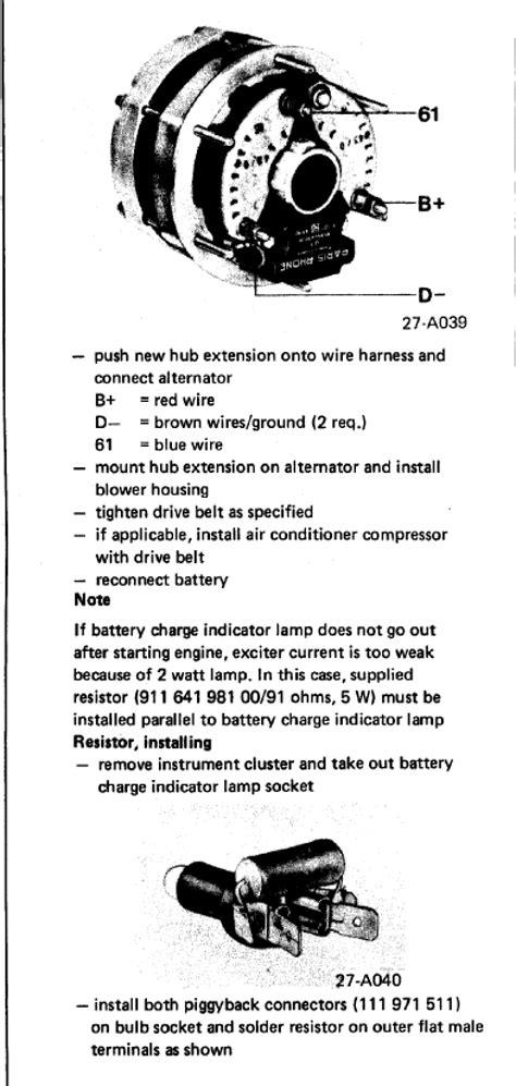 Help needed with NEW Alternator-Valeo wiring hookup