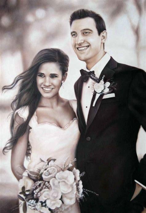 Wedding Portrait by Wedding Portraits Wedding Paintings Bridal Portraits