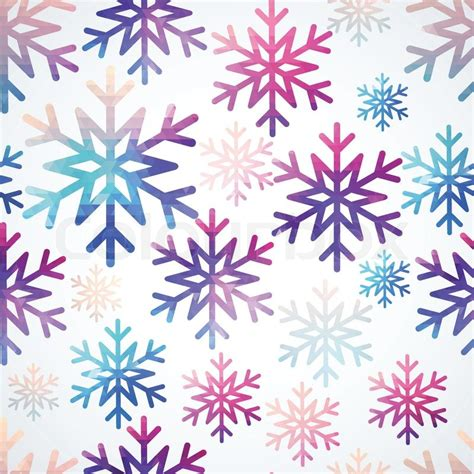 new year design pattern vector snowflakes pattern abstract snowflake of geometric