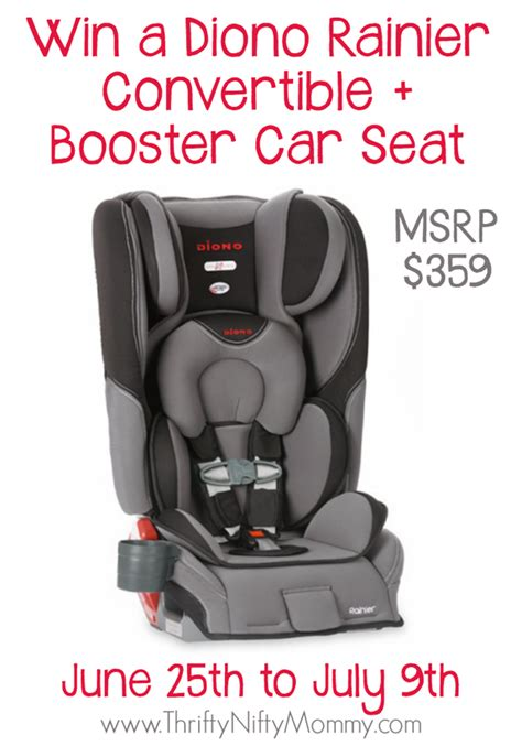 Carseat Giveaway - diono rainier car seat giveaway the bandit lifestyle