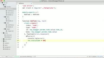 javascript tutorial http request build node js apis with openapi spec swagger course by