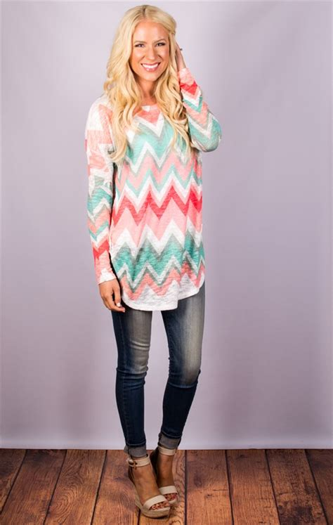 Tunic Seling 6 best selling chevron tunic