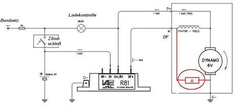 Motorrad Schaltung Klemmt by Elektronischer Spannungsregler R81 6 V Ersatz Alternativ F