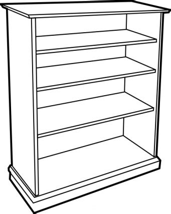 Bookcase With Cabinet Wooden Door Clipart Clipart Panda Free Clipart Images