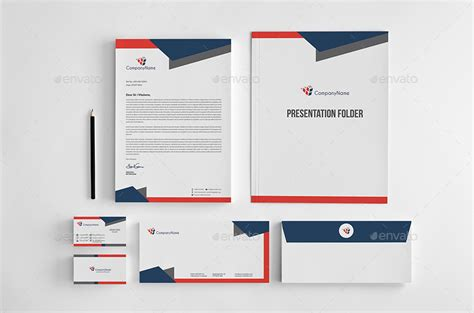 corporate stationery pack design template vol 11 by