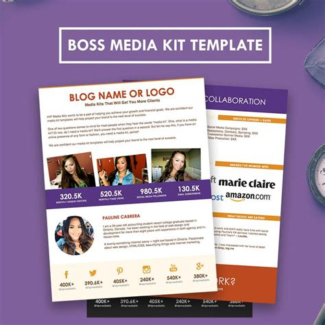 media kit design template 32 best images about media kit design exles on