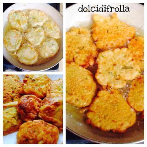 frittelle con fiori di zucchina frittelle coi fiori di zucchina