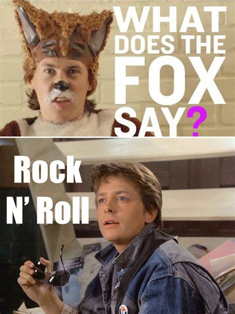 Michael J Fox Memes - what does the michael j fox say ylvis the fox