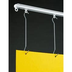 ceiling track hangers ceiling track gt hanging posters shopequip co uk