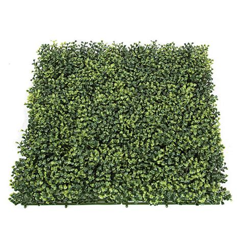 Boxwood Mats by 20x20 Inch Tutone Artificial Outdoor Boxwood Mat 3 Inches