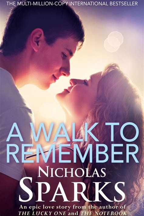 remember books nicholas sparks uk a walk to remember