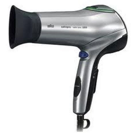 Braun Hair Dryer Review braun spi2200 satin hair iontec hair dryer for 220 volts