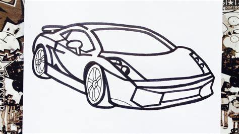 imagenes para dibujar un carro como dibujar un carro how to draw cars como desenhar