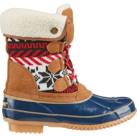 academy duck boots khombu 174 s mayanna fashion duck boots academy