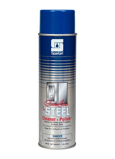 Parutan Steenliss stainless steel cleaner spartan chemical