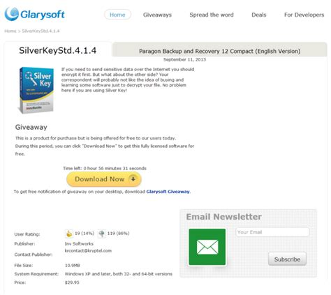 a new giveaway website with software giveaways everyday instant fundas - Glarysoft Giveaway