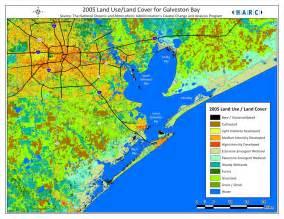 galveston on map wetlands of galveston bay