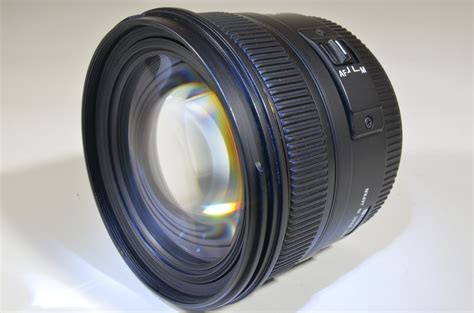 Sigma 50mm F1 4 Dg Hsm For Nikon Free Lenshood sigma 50mm f1 4 ex dg hsm for nikon a0115 superb japan