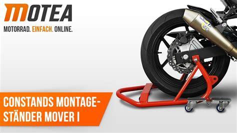 Motorrad Rangierhilfe Youtube by Motorrad Montagest 228 Nder Rangierhilfe Constands Mover