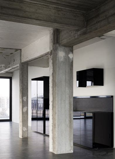 Exposed Concrete Interior by Exposed Concrete Makes Me Swoon Interiors