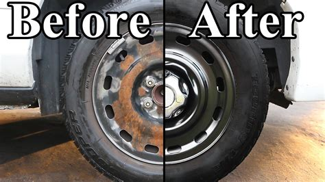 Auto Lackieren Selber Lernen by How To Paint The Wheels On Your Car Ford Explorer 1998