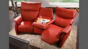 Wow Sofas Himolla Trapez Sofa 4879 75 H Leder Rot Ebay