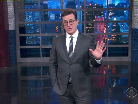 who is the real stephen colbert an early peek at his late stephen colbert says he knows the real reason trump fired