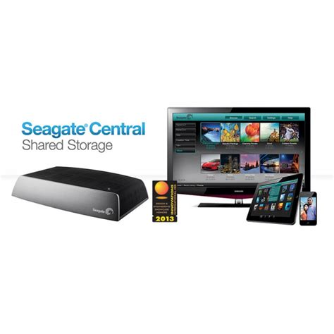 Seagate Central seagate central networked storage 2tb optional 3tb