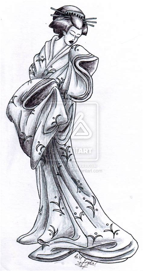 tattoo geisha sketch tattoo art tattoo geisha by larvoncl on deviantart