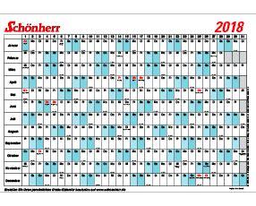 schoenherr kalender  zum ausdrucken kalender